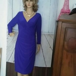 Ralph Lauren purple dress sz8